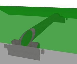 Спиральновитая труба в 3D-виде