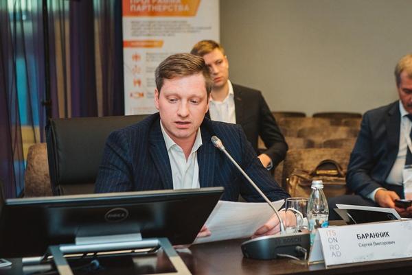 Сергей Викторович Баранник на конференции ITSONROAD — 2017