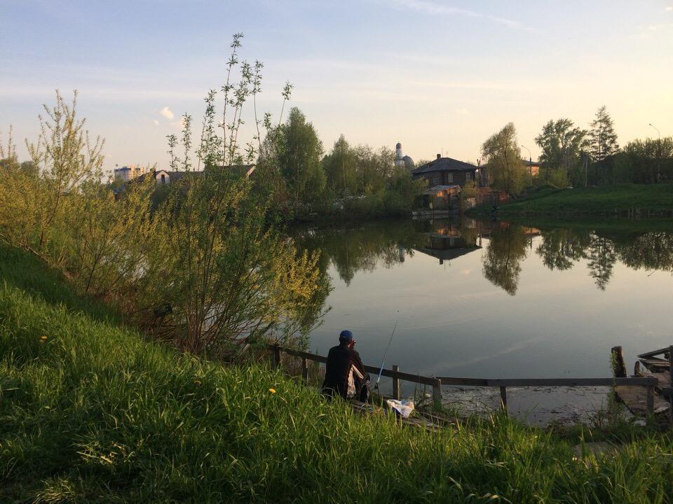 Томск. Университетское озеро