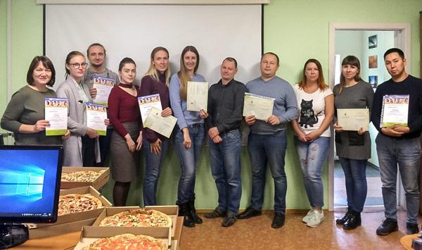 Слушатели и преподаватели курсов по IndorCAD. Томск, 19 октября 2018 г.