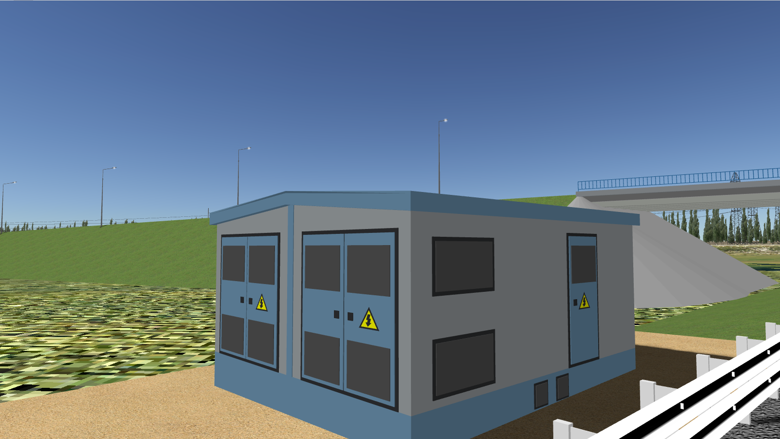Трансформаторная подстанция